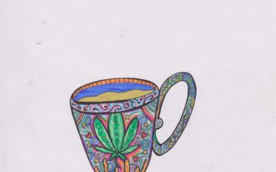 hampe te kop. God til hampe te og god til kaffe