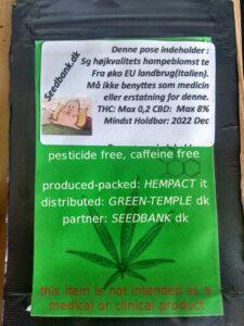 Eu øko cannabis sativa